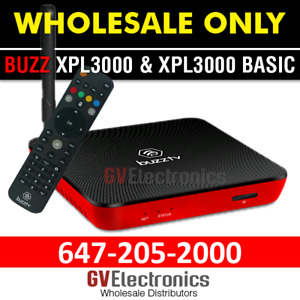BUZZTV XPL 3000 ANDROID BOX NOW AVAILABLE 2GB WHOLESALE ONLY