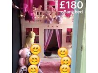 Bank bed