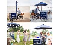 Ice cream bikes & ice cream van for weddings and all private & corporate events
