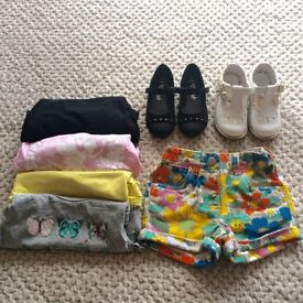 Fantastic girls clothes and shoes bundle age 3-4 all great condition