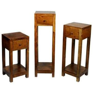 Very Slim Bedside Table side table | hall, bedside & lounge side tables | ebay