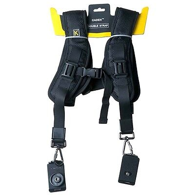 Rapid Camera Dual-shoulder Neck Strap Sling Belt for Nikon Canon Sony DSLR SLR