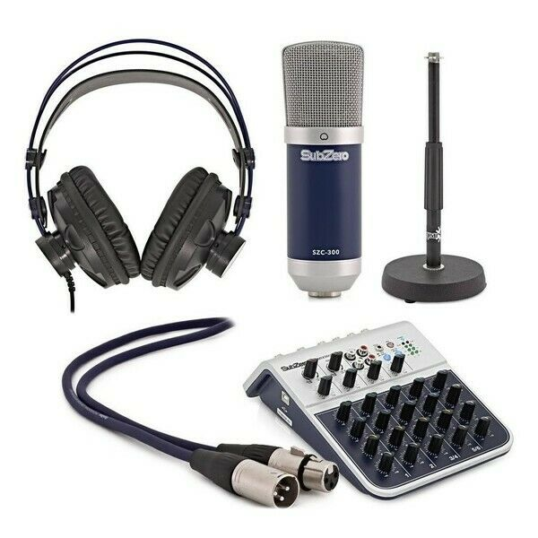 SubZero Podcast Presenter Pack