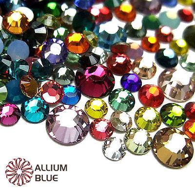 2028 Flat Back Ss34 Crystal (Swarovski 2028/2058 crystal round flatback rhinestone nailart SS5-SS34 Mix)
