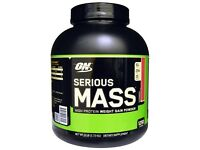 Optimum nutrition SERIOUS MASS strawberry!