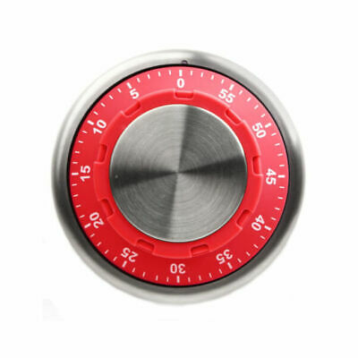 Magnetic Kitchen Timer - 60 Minute Timer in Red