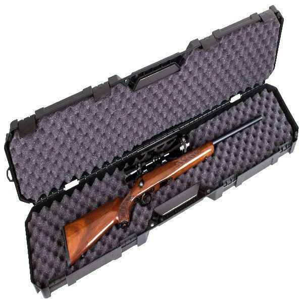 50.5 Inch Rifle Shotgun Case Tactical Hunting Carrying Gun Bag Padded Pouch Swat