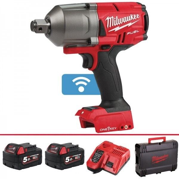 Milwaukee M18 One Key Fuel High Torque 3 4 5 Ah Cordless Battery Impact Wrench With Friction Ring