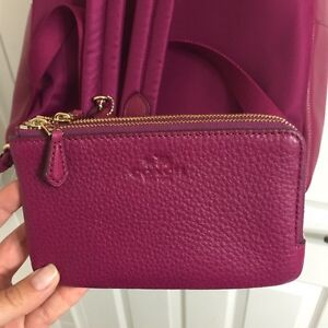 Authentic COACH BNWT backpack AND matching wristlet!  Kitchener / Waterloo Kitchener Area image 5