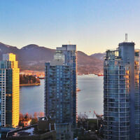 $2750 / Fully-furnished 1 bedroom, Coal Harbour, Vancouver, B.C