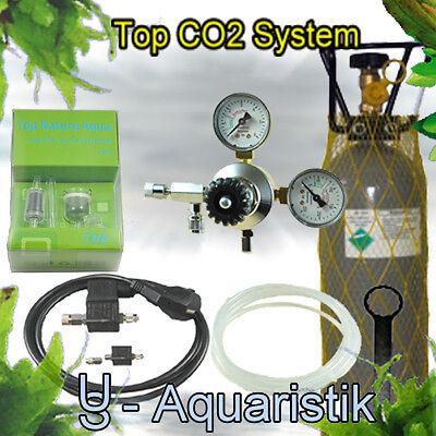 CO2 Anlage US Aquaristik (Sonderedition, 2kg mit Magnetventil bzw. Nachtabschaltung)