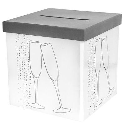 Geldbox Champange Geschenkbox Hochzeit Deko Party Geldgeschenk Box Hochzeitsdeko