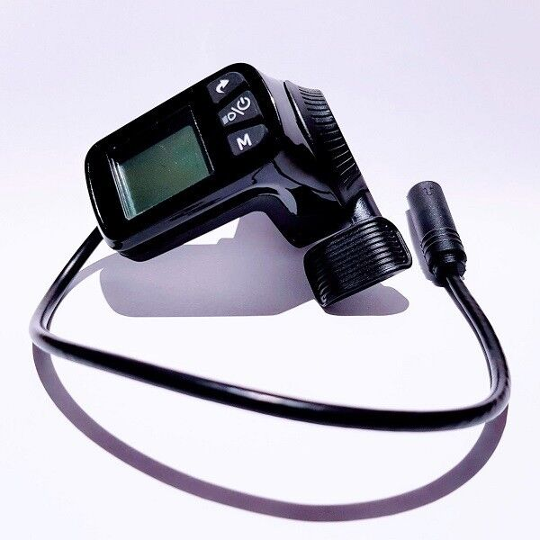 124DX-3 eBike display + throttle (compatible w/ Super 73 removes speed limit)