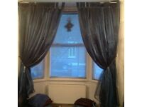 CURTAINS - Swag Organza Bay Window Curtains Also straight window available too.
