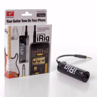 iRig Guitar Interface Adapter for iPhone iPad iDevice