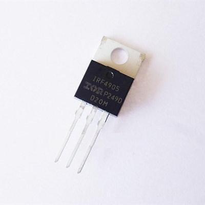 10pcs Transistor Irf4905 Irf4905pbf Mosfet Fet P-channel 55v 75a 200w Diy