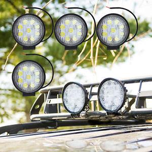 4X 27W LED Arbeitsscheinwerfer OFFROAD SCHEINWERFER für Jeep SUV IP67 9 LED