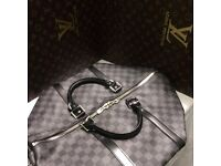 Beautiful classic Louis Vuitton lv damier monogram 45 genuine designer