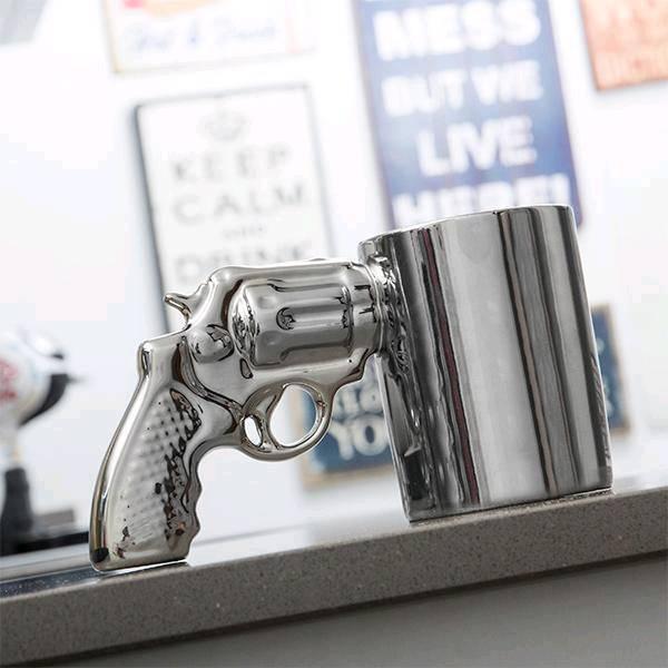 Revolver Mug £12.99