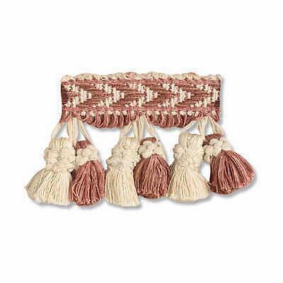 Natural Cotton Tassel Fringing JUTE 9.5cm