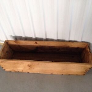 Handcrafted Antique Wooden box - excellent potential! London Ontario image 2