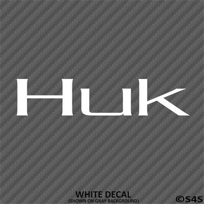 HUK Performance Fishing Gear Outdoor Sports Decal Sticker  - Choose Color