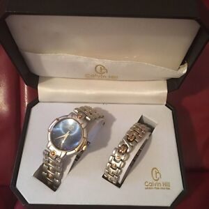 Calvin hill watch with bracelet