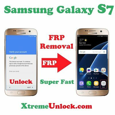 Remote All Galaxy S7   S7 Edge Google Account Removal Frp Unlock    Super Fast