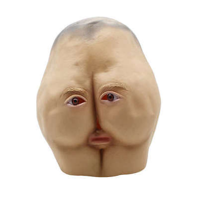 Masks Latex Adult Full Face Funny Masquerade Weird Makeup Festival Party - Weird Masks