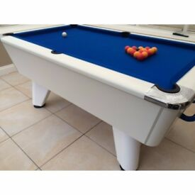 Supreme Winner Pool Table , 7ft , White Pearl , Brand New