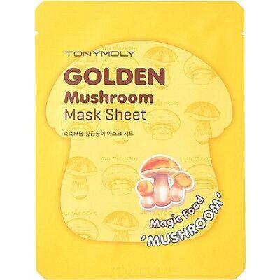 Tony Moly Golden Mushroom Mask Sheet   Magic Food Mushroom    Fast Shipping