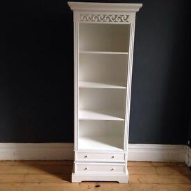 Beautiful white bookshelf