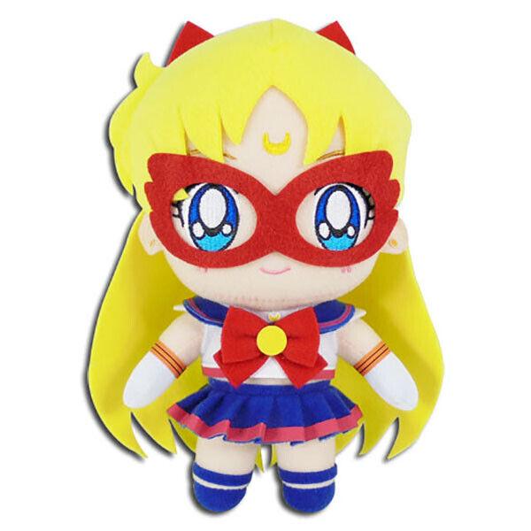Sailor Moon Sailor V Plush Toy Venus 8-Inch Official Licensed GE Animation