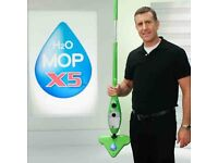H2O H20 Mop X5 Elite 5 in 1 Portable Steam Mop Multi Purpose used good condition