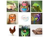 MiniZoo Madness Parties (Mini traveling zoo, cakes, buffets, balloons, face painting, white doves...