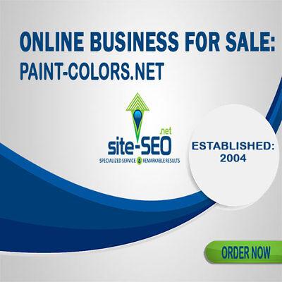 Online Business For Salepaint-colors.net