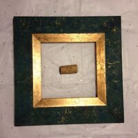 Green and Gold Frame (wood) #6