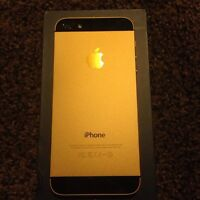 iPhone 5 - custom / Aztec Gold + Black 32GB Factory Unlocked