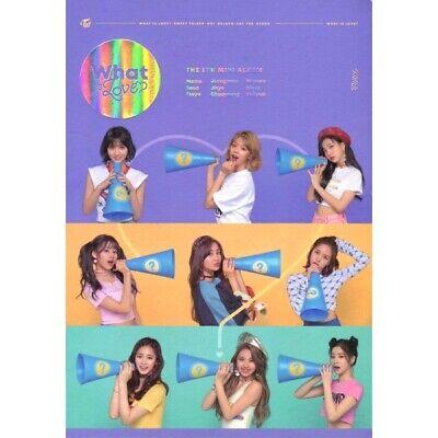 TWICE [WHAT IS LOVE?] 5th Mini Album B Ver. CD+Photo Book+7p Card+Lyrics+Sticker