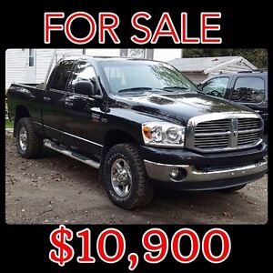 •RELIABLE 2009 4x4! Perfect for the up coming season!•