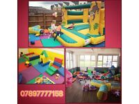 Soft play and bouncy castle hire in London