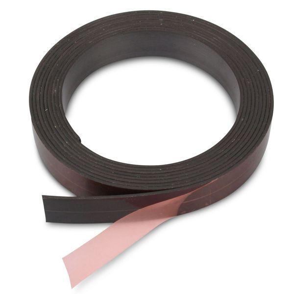 Magnetband einseitig selbstklebend Magnetstreifen Breite wählbar - Meterware
