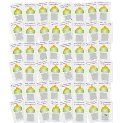 Baby Shower Party Game (24) Lottery Scratch Off Tickets Winner Favor - Party Tickets