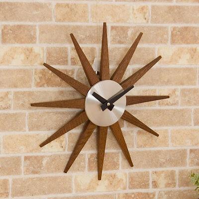"From Japan Nitori Wall clock Soare dark brown ""Code: 8172537"" / Tracking SAL"
