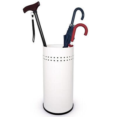 bremermann® Schirmständer, Regenschirmständer, Schirmhalter, weiß