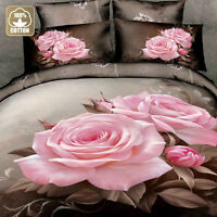 3-piece cotton duvet cover set, 3D print, Brand New, LOW PRICE!