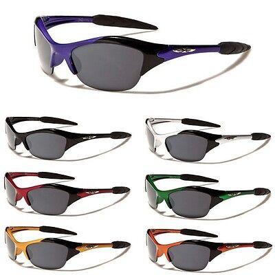 Ages Framed (X-loop Half Frame KIDS Boys Girls AGE 3-12 Cycling Baseball Sport Sunglasses )
