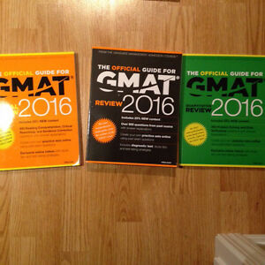 U of S textbooks and GMAT for sale