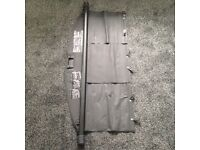 Toyota verso (genuine) parcel shelf luggage load black