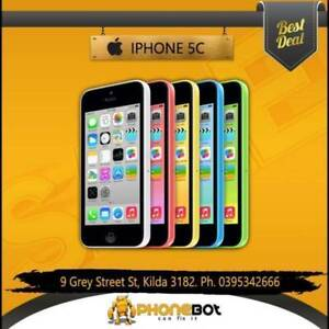 iPhone 5c 32gb with 3 months warranty @PhoneBot St Kilda Port Phillip Preview